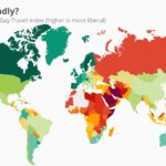 Gay Friendly Travel map